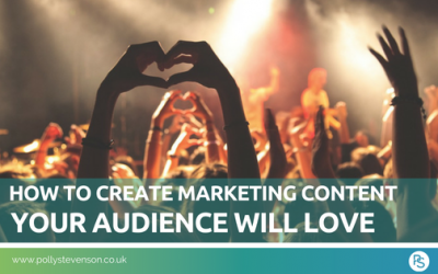 How to create marketing content your audience will love