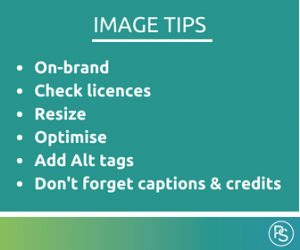Image tips for blogs