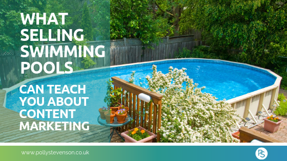 swimming pools content marketing